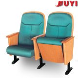 Portées en bois de cinéma d'accoudoir de présidence du théâtre Jy-915