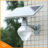 6W 원격 제어 Apple 옥외 태양 LED 거리 정원 빛