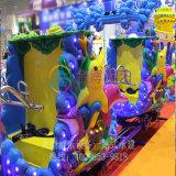 Mini paseos de lanzadera para la venta, en el interior de los niños jugar mini Roller Coaster