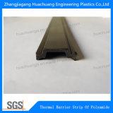 Forme C profil extrudé en polyamide de barrière thermique 30 mm
