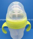 新しい着かれたBPAの自由に無毒なシリコーンの哺乳瓶