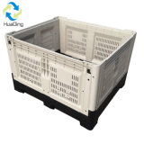 1200x800x810 Engradado de plástico dobrável de plástico e caixa de seleção de frutas e produtos hortícolas