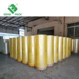 Freier oder gelblicher BOPP Verpackungs-Band-Tunnel-bohrwagen Rolls