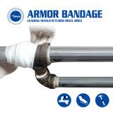 Il vario collegamento di formato rinforza il nastro colante Crack di riparazione del tubo ampiamente usato di riparazione del tubo di scarico dell'impianto idraulico del gas di olio