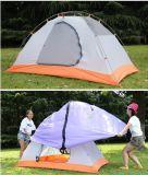 2-persoon het Kamperen van de Familie Tent van Backpacking van de Koepel de Wind Waterdichte