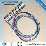 Muelle enrollado, Elemento calefactor eléctrico