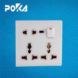 Interruptor de saída da tomada eléctrica de parede Paquistão Estilo para Home 220V
