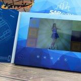 Настраиваемые Facevideo 4,3 дюйма по приглашению видео карта для проведения свадеб бизнес реклама