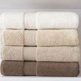 ホテルの浴室タオルのための極度の柔らかく白い浴室タオルの100%年の綿