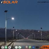 Certifiée ISO Système d'alimentation du panneau solaire lampe LED Éclairage extérieur de la rue