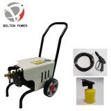 1.6kw de elektrische Wasmachine van de Hoge druk met Wielen en de Fles van het Schuim voor het Schoonmaken van de Auto