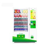 Npt 2018 Combo Venda quente máquina de venda automática com ecrã de 22'' para bebidas e snacks