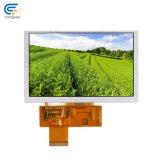 Alto brillo exterior Panel LCD TFT 5 pulg.