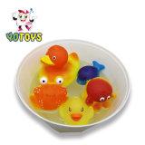 Cambiando de color en agua caliente baño Animal flotante Juguetes