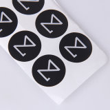 Zwarte van het Embleem van de Aankomst van Sinicline compenseerde de Nieuwe Witte Zelfklevende Sticker