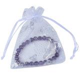 OEMの熱い販売の習慣によって印刷されるオーガンザのドローストリング袋のギフト袋(COB-1124)
