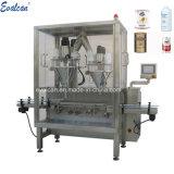 Automatique de la poudre de protéine, poudre sèche, lait en poudre, flacon de poudre de café de l'étain peut remplir la ligne d'emballage de la machine à ensacher