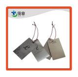 La profesión de prendas de vestir Hangtag personalizado impreso en papel