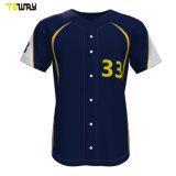 Черным бейсбола Джерси дизайн