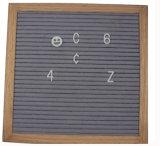 10X10cm da estrutura de Carvalho sentida Carta Board com 340PCS letras alteráveis