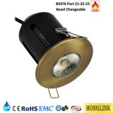 10W IP65 Dimmable Nenn-LED Downlight Großbritannien Markt des Feuer-