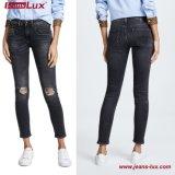 2018 jeans scarni del denim dei pantaloni delle donne calde dal disegno Jl-Sk078 del Jeans-Lux New