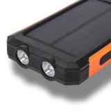 2018タバコのライターが付いている実質容量20000mAhの携帯用充電器LCD外部電池の太陽エネルギーバンク