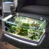 Аквариум рыб и бак с низким уровнем утюг экологических стекла