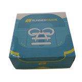 Boîte d'emballage du produit au design unique avec ligne de kraft blanc
