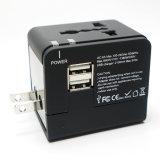2 порт USB во всем мире универсальный адаптер для поездок