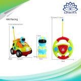 Control remoto de dibujos animados alquiler de coche de carreras de juguete Juguetes de bebés La música de Radio Control de Automoción Coche RC