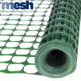 La fábrica de malla de alambre de plástico verde