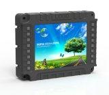 Contrôle industriel robuste militaire 17 pouces écran LCD