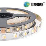 Het Flexibele LEIDENE RGBW Licht van de Strook met Professionele Kwaliteit