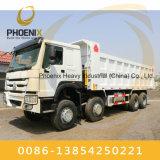 アフリカのための優秀な状態の公平に使用されたSinotruk 371HP HOWOのダンプトラック8X4のダンプカー