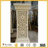 ホームまたは庭の装飾のための砂岩ランタンのクラフト