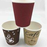 Venda por grosso de papel de parede de ondulação Cup para a bebida do café