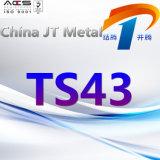 Ts43 de Leverancier van China van de Plaat van de Pijp van de Staaf van het Staal van de Legering