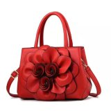 Sacchetto di cuoio del fiore della borsa della donna della signora di sacchetto del Tote delle borse della signora Handbags Wholesale Fashion Handbags borsa (WDL014550)