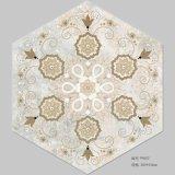 De verglaasde Hexagonale Ceramiektegel van de Tegel van het Porselein van de Tegel voor Vloer