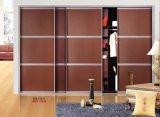 По современным стандартам качества конструкции из ПВХ серии затвора шкаф сдвижной двери (yg-0)