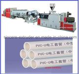 Línea de la protuberancia del tubo del cable de la comunicación del PVC UPVC CPVC \ máquina de la fabricación