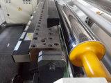 Applicateur adhésif de film de laminage de fonte chaude automatique sur le tissu de textile