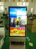 De dubbele ZijVloer die van het Aanplakbord LCD de Vertoning van Kisok van het Comité bevinden zich