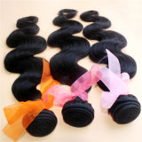 cabelo brasileiro de Remy da cor natural não processada da onda do corpo do cabelo 8A