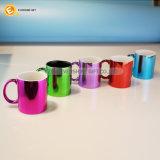 11oz het galvaniseren van de Veelkleurige Bespuitende Ceramische Mok van de Koffie