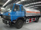 트럭이 Dongfeng 14000L 15000L 연료 유조 트럭에 의하여 10 톤에서 15 톤 급유한다