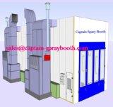 Großer Spray-Stand mit Dieselwärmeenergie