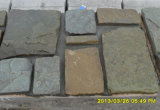 Nouveau produit naturel noir lâche de placage de pierre (SMC-FS019)