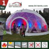 structure de tente de dôme géodésique de demi de sphère de tente de chapiteau d'igloo de 12m